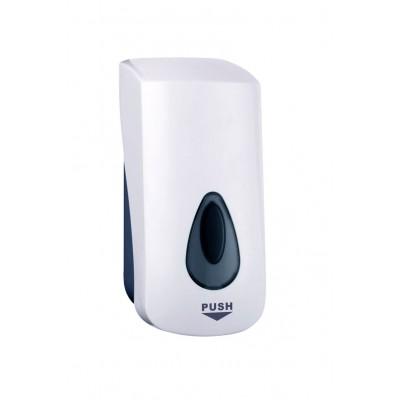 Dozownik mydła i płynów dezynfekcyjnych Biały 1l B7001