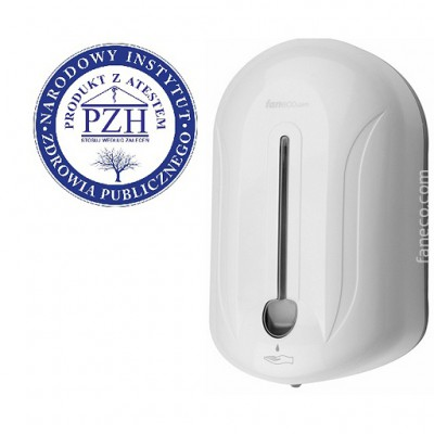 Automatyczny dozownik mydła w płynie i środków dezynfekcyjnych 1,1 l POP