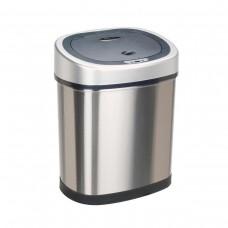 Bezdotykowy automatyczny kosz na śmieci owalny 42 litry