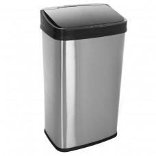 Bezdotykowy automatyczny kosz na śmieci 50 litrów prostokątny