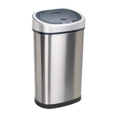 Bezdotykowy automatyczny kosz na śmieci 50 litrów owal