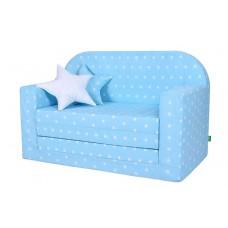 LULANDO Sofa Classic, Gwiazdki Białe na Niebieskim Tle